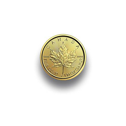 Goldmünze - Maple Leaf 1/10 Unze - 2018 - 999.9 Feingold aus Kanada