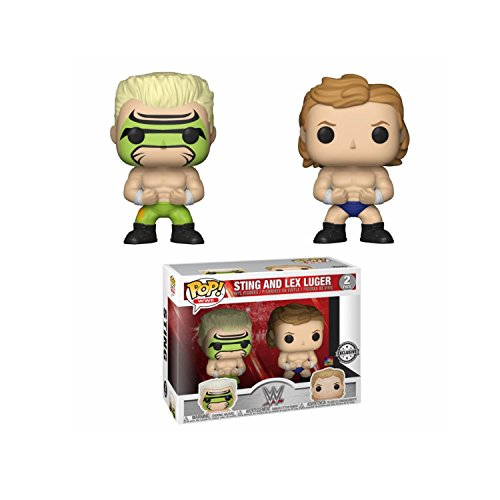 Funko Figurine WWE 2 Pack Lex Luger Surfer Sting Exclu Pop 10cm 0889698203319