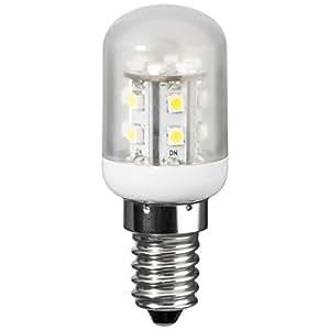 GOOBAY Ampoule de réfrigérateur LED 1,2 W base E14, 10 W équivalent Blanc froid