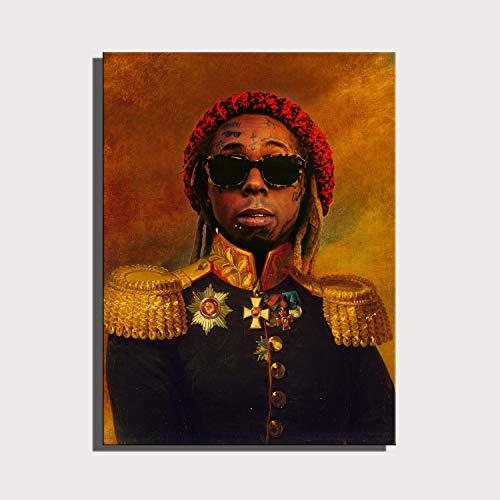 Leinwand Gemälde Sonnenbrille Gentleman Poster Hd Druckwand Simulation Ölgemälde Kunst Dekorative Leinwand Malerei Rahmenlos Hängendes Gemälde 50 * 70cm