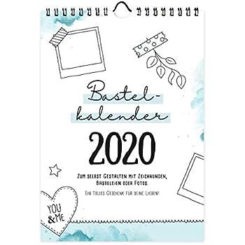 a4 bastelkalender 2020 recyclingpapier fotokalender. Black Bedroom Furniture Sets. Home Design Ideas