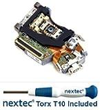 New - Sony PS3 Laser Lens (KES-400A/ KES-400AAA/ KEM-400A/ KEM-400AAA) + Nextek® Torx T10 Security Screwdriver