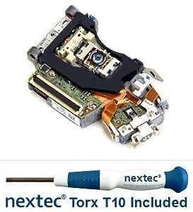 Neuf - Sony PS3 Bloc Optique Lentille Laser (KES-400A/ KES-400AAA/ KEM-400A/ KEM-400AAA) + Tournevis Nextek® Torx T10 Security