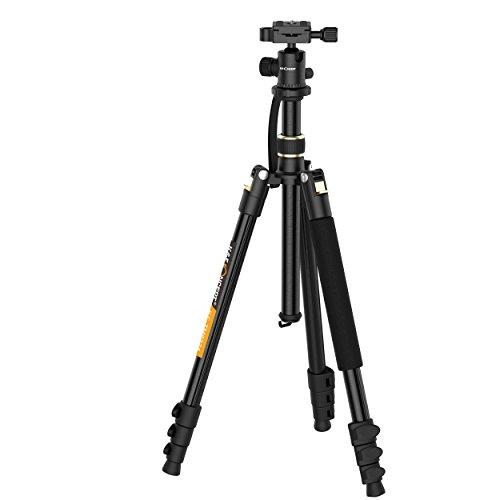 Treppiede Leggero, k&F Concept per Reflex Fotocamera Estensibile Fino a 1,58m con...
