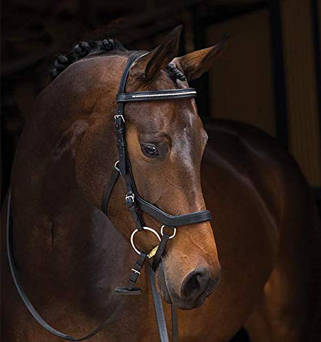 Horseware Rambo Micklem Diamant Competition Eng Lthr. - Black, Groesse:Warmblut (L)