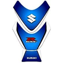 Tank Pad para depósito para Moto Suzuki GSXR 2009–2015| pegatinas Suzuki gp-150 azul