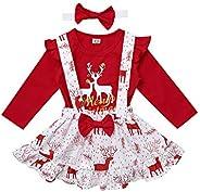 IEFIEL Vestidos de Princesa Fiesta Bautizo para Bebés Niñas Disfraces Infantiles de Navidad Carnaval con Lunar