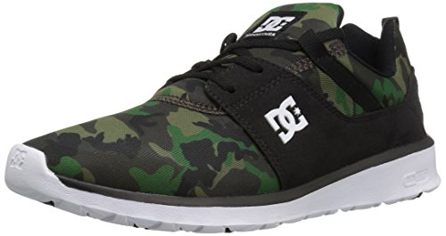 DC Mens Heathrow Se Skate Skateboarding Shoe Black/Camo