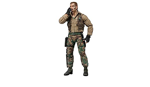 "7/"" DUTCH JUNGLE ENCOUNTER figure PREDATOR 30TH ANNIVERSARY black vest NECA 2017"