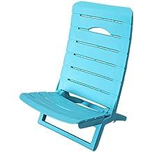 Shaf Silla de Playa Azul 56x44x69 cm 55078