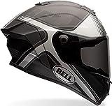 Bell Casco Race Star Tracer Black Matt/Grey, L