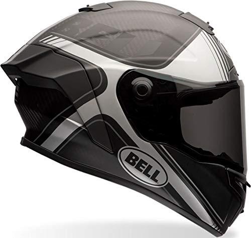 BELL 7069609 Casco per Moto, Tracer Black Matt/Grey, Taglia S