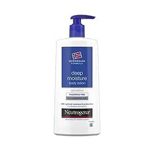 Neutrogena Deep Moisture Body Lotion For Dry And Sensitive Skin 250ml