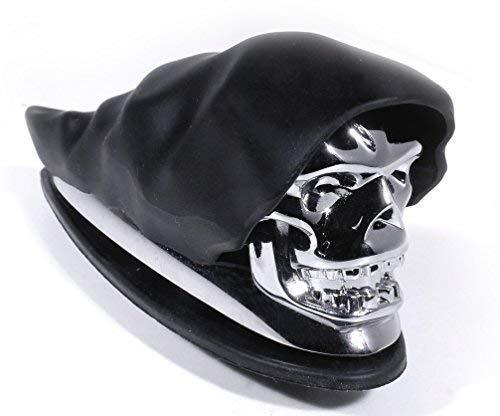 Kotflügel Fender Ornament Totenkopf Chrom Skull