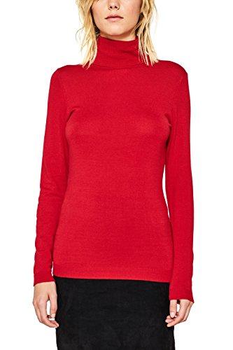 ESPRIT Damen Pullover 097EE1I035 Rot (Red 630), Medium (Herstellergröße:M)