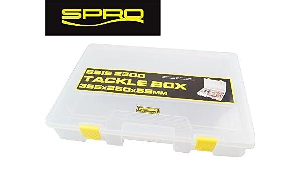 Köderbox für Blinker /& Spinner Spro Tackle Box with EVA 23x12x4,2cm