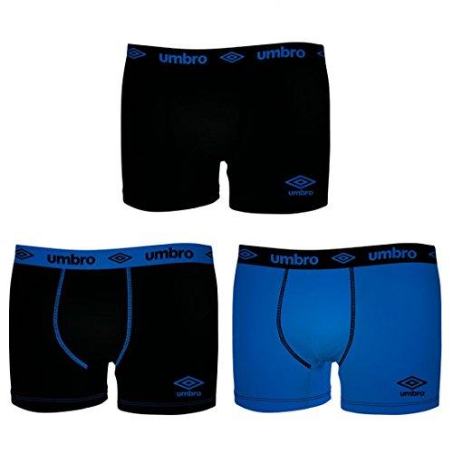 Umbro Herren Boxershort Blau