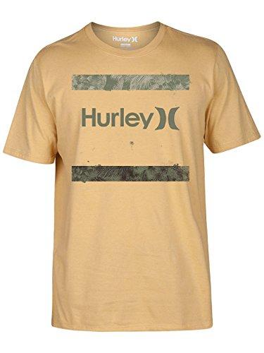 Herren T-Shirt Hurley Backdrop T-Shirt gold dart