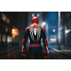 Jigsaw Puzzles Rompecabezas Avengers Spider-Man Marvel Superhero Poster, Rompecabezas de Madera for Adultos Niños, 300/500/1000 Piezas for Boy Girl Friends Gift Toys Juego Decoración del hogar