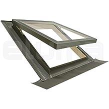Ventana para tejado (completa) modelo COMFORT VASISTAS/Claraboya certificada y altamente aislante/