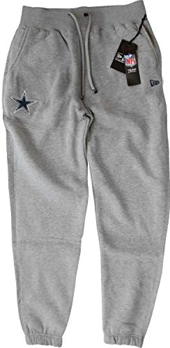 New Era - NFL Dallas Cowboys Jogginghose - grey Size M (Flag Football Hose)