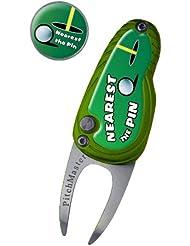 "Asbri Golf Pitchgabel Pitchmaster mit Aufschrift ""Nearest Pin"""