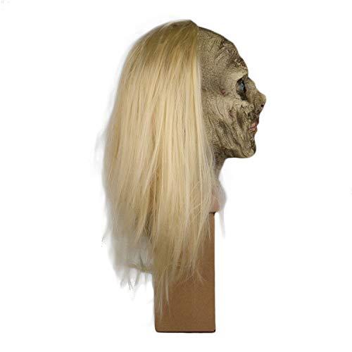 Henxizucun Die Walking Dead Maske Vollkopf Maske Resident Evil Monster Maske Zombie Kostüm Party Latex Maske für Halloween,A,OneSize