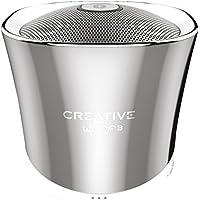 Creative Woof 3 Mini Enceinte portable Bluetooth/Stations MP3 Chrome