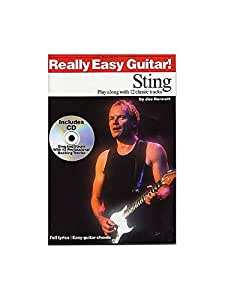 Really Easy Guitar! Sting. Partitions, CD pour Guitare