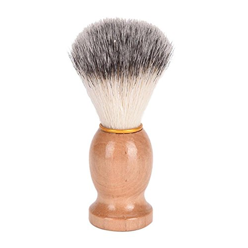Gesicht-schaum Seife (Warooms 1 Stück Männer Rasierpinsel, Holzgriff Gesichts Bart Rasierpinsel Friseur Rasur Seife Schäume Gesichtsreinigung Rasur Werkzeug)