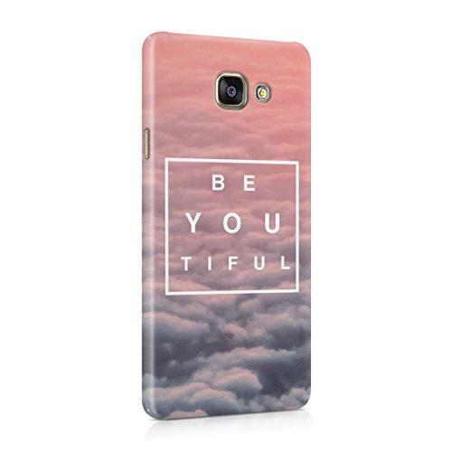 Beautiful Cute Be Youtiful PClouds Tumblr Dünne Rückschale aus Hartplastik für Samsung Galaxy A5 2016 Handy Hülle Schutzhülle Slim Fit Case Cover