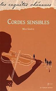Cordes sensibles par Max Genève