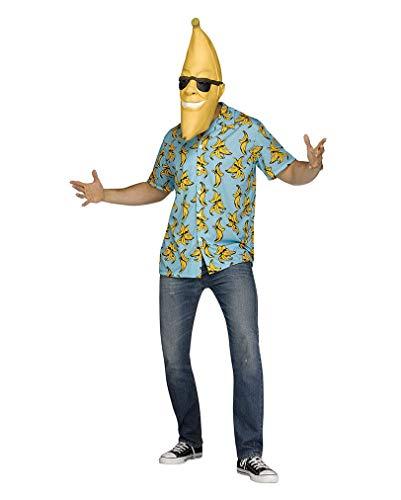 Horror-Shop Goin' Bananas Kostüm mit Maske für Fasching One Size