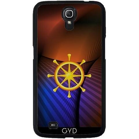 Custodia in silicone per Samsung Galaxy Mega 6.3 - Ruota Del Dharma by hera56