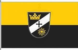 Königsbanner Autoflagge Motten - 30 x 45cm - Flagge und Fahne