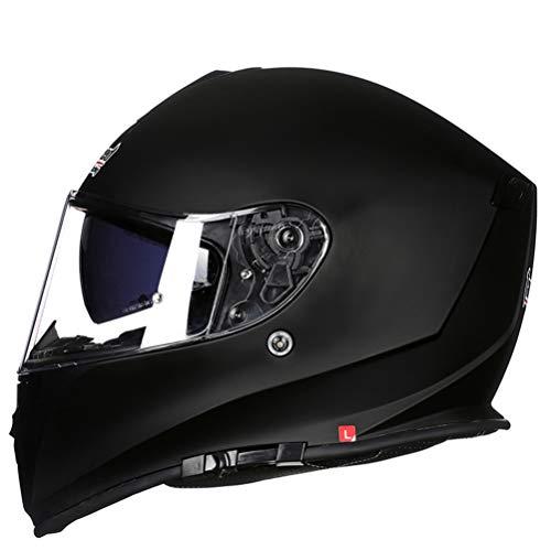 Preisvergleich Produktbild Männer Tank Motorrad Motorrad Helm Frauen Vier Jahreszeiten Antifogging Dounle Lense Full Face Moto Motocross Helme XXXL