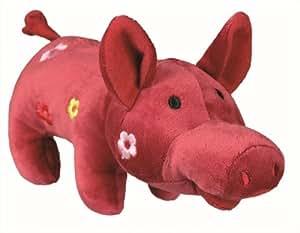 Trixie Cochon avec Son Animal en peluche, 21cm, lot de 4