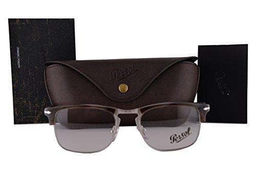 Preisvergleich Produktbild Persol PO8359V Brillen 51-19-145 Dunkle Horn Mit Demonstrationsgläsern 1045 PO8359