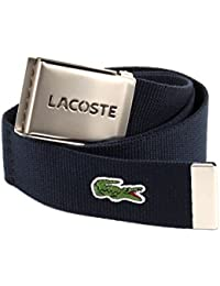 LACOSTE Gift Box Woven Strap W95 Navy