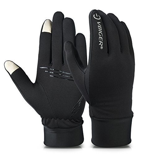 Vbiger TouchscreenHandschuhe Fahrradhandschuhe Sport Handschuhe Trainingshandschuhe für Sport
