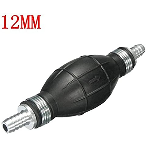 Yongse 12 millimetri di non ritorno Valvola del carburante One Way Pompa Universale mano Primer bulbo di gomma