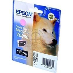 Epson Stylus Photo R 2880 (T0966 / C 13 T 09664010) - original - Inkcartridge bright magenta - 865 Pages - 11,4ml