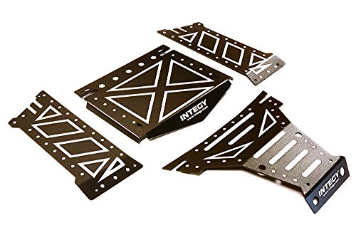 Integy RC Model Hop-ups C27661BLACK Aluminum Alloy Body Panel Kit for Axial 1/10 Yeti Rock Racer Buggy - Yeti Rc-kit