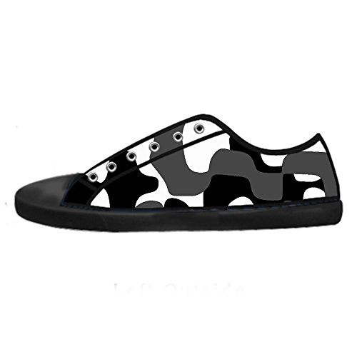 Dalliy camouflage Men's Canvas Shoes Lace-up High-top Footwear Sneakers Chaussures de toile Baskets C