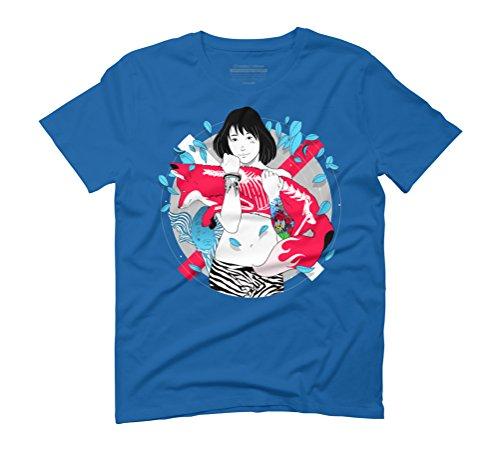 Salva Men's Graphic T-Shirt - Design By Humans Royal Blue