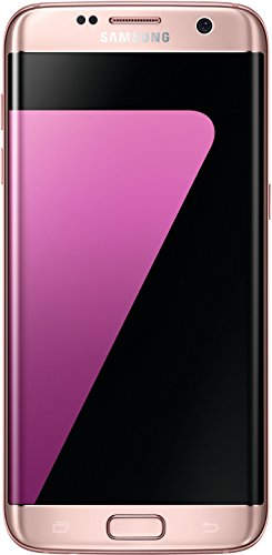 Samsung Galaxy S7 Edge Smartphone (5,5 Zoll (13,9 cm) Touch-Display, 32GB interner Speicher, Android OS) Pink