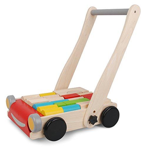 Imagen principal de Plan Toys 51230 PlanPreschool - Andador de madera [importado de Alemania]