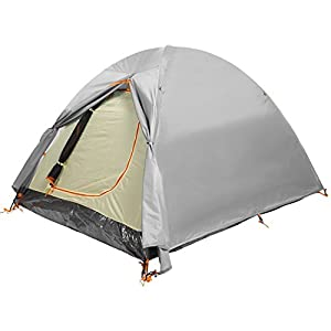 Dome Tent 2 Man Waterproof Lightweight Double Skin Outdoor Tent for Camping Backpacking from Minilism