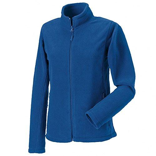 Russell Womens Full Zip Outdoor Fleece Jackets Bright Royal