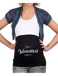 Mamaband Schwangerschaft Bauchband für die Babykugel zum selbstgestalten – Rückenwärmer und Shirtverlängerung für Schwangere – Elastische Umstandsmode